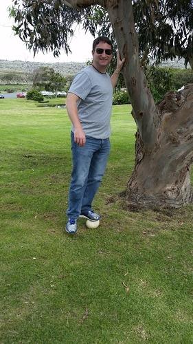Standing on an Ostrich Egg