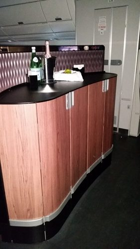 "Qatar Airways Business Class ""Bar"""