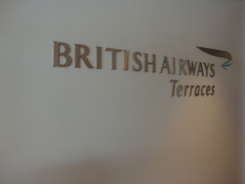 British Airways First Class Lounge - ORD